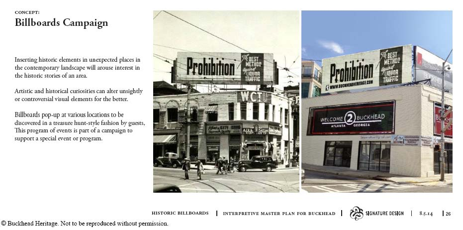 Billboards Campaign Concept