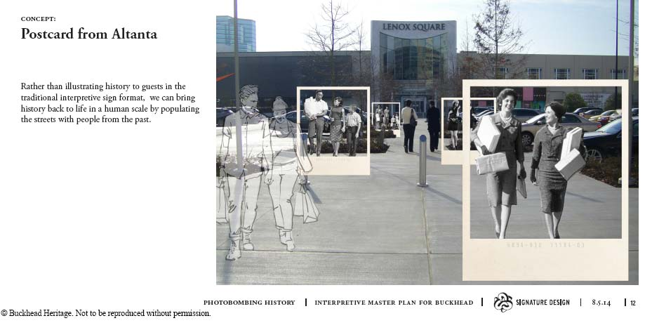 Postcard from Atlanta Concept