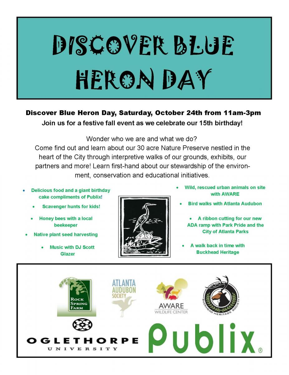 Discover Blue Heron Flyer