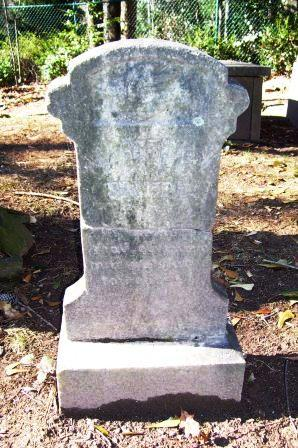 Martha Smith's Headstone, Before