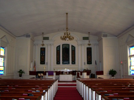 Sardis Church Interior