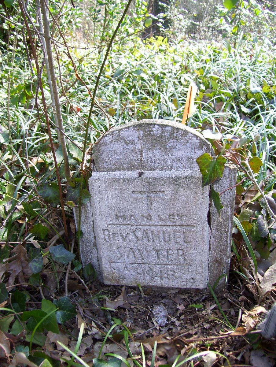Piney Grove Headstone, 2010